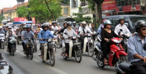How Many Motorcycles in Ho Chi Minh City?
