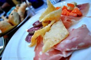 Mortadella and Canteloupe