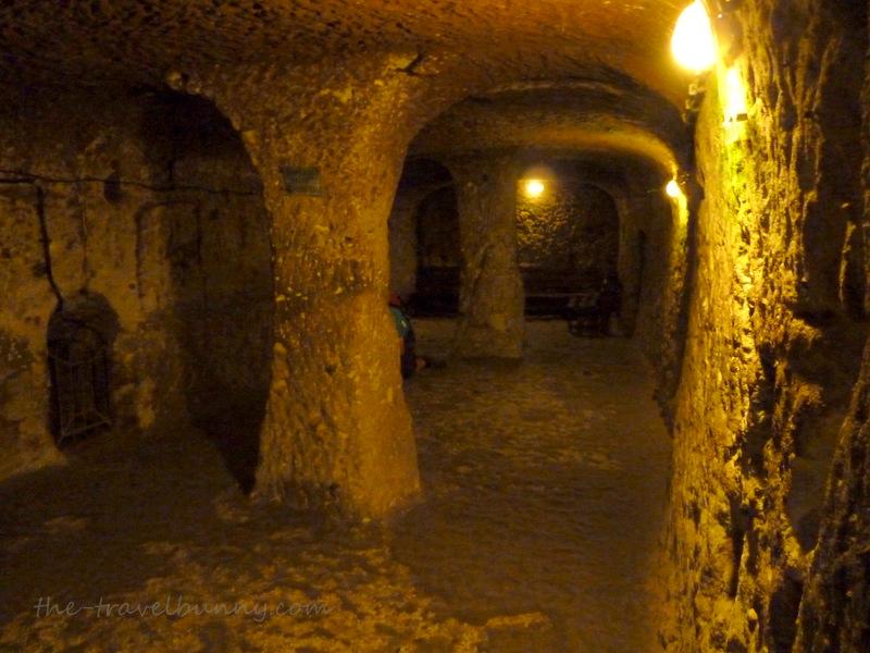 deep inside derinkuyu underground city the travelbunny
